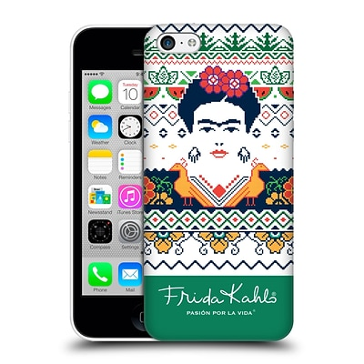 OFFICIAL FRIDA KAHLO COYOACAN PATTERNS Peacock Hard Back Case for Apple iPhone 5c