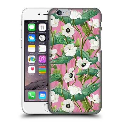 OFFICIAL CELANDINE WILD THINGS Barracuda Pink Hard Back Case for Apple iPhone 6 / 6s