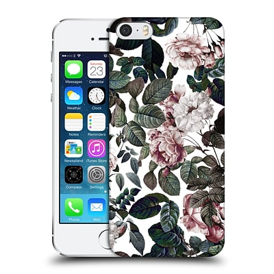 OFFICIAL BURCU KORKMAZYUREK FLORAL 2 Vintage Garden Hard Back Case for Apple iPhone 5 / 5s / SE