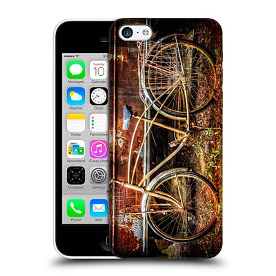 OFFICIAL CELEBRATE LIFE GALLERY BICYCLE Rusty Ride Hard Back Case for Apple iPhone 5c