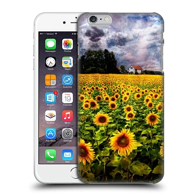 OFFICIAL CELEBRATE LIFE GALLERY FLORALS Dreaming Of Sunflowers Hard Back Case for Apple iPhone 6 Plus / 6s Plus