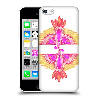 OFFICIAL CAT COQUILLETTE BIRDS Parrot Melon Ombre Hard Back Case for Apple iPhone 5c