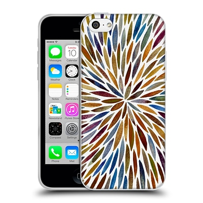 OFFICIAL CAT COQUILLETTE MANDALA Burst 70s Soft Gel Case for Apple iPhone 5c