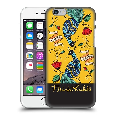OFFICIAL FRIDA KAHLO PEACOCK Mirror Hard Back Case for Apple iPhone 6 / 6s
