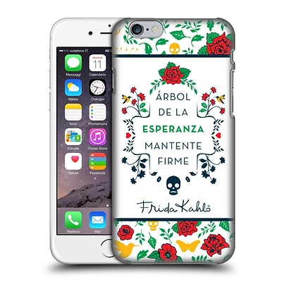 OFFICIAL FRIDA KAHLO ICONS Typography Hard Back Case for Apple iPhone 6 / 6s