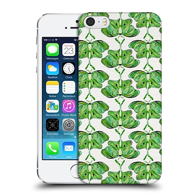 OFFICIAL CAT COQUILLETTE INSECTS Luna Moth Hard Back Case for Apple iPhone 5 / 5s / SE