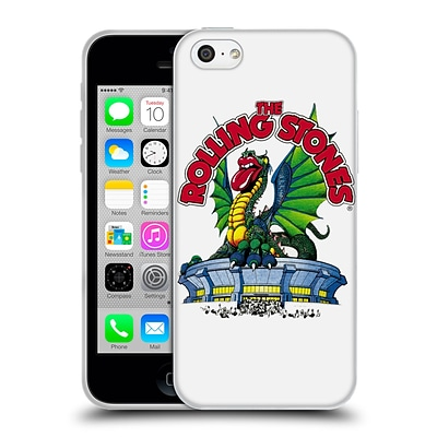 OFFICIAL THE ROLLING STONES KEY ART Dragon Soft Gel Case for Apple iPhone 5c