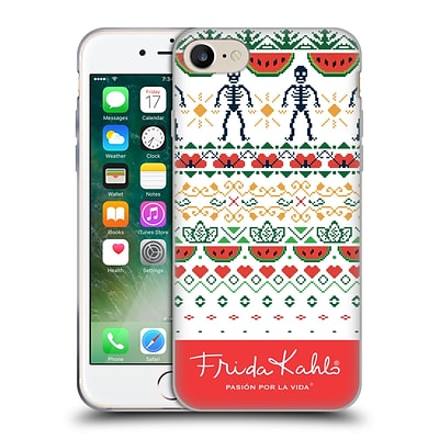 OFFICIAL FRIDA KAHLO COYOACAN PATTERNS Watermelon Soft Gel Case for Apple iPhone 7