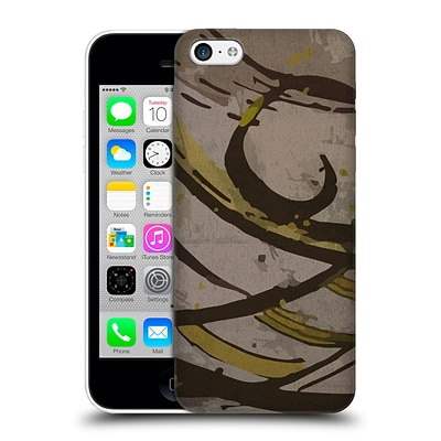 OFFICIAL MAGDALENA HRISTOVA INK Brown 4 Hard Back Case for Apple iPhone 5c