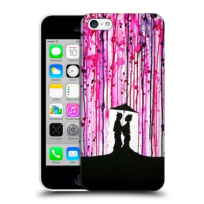 OFFICIAL MARC ALLANTE SILHOUETTES Wild Blossoms Hard Back Case for Apple iPhone 5c