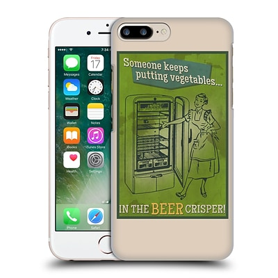 OFFICIAL LANTERN PRESS MAN CAVE Someone Keeps Putting Vegetables Hard Back Case for Apple iPhone 7 Plus