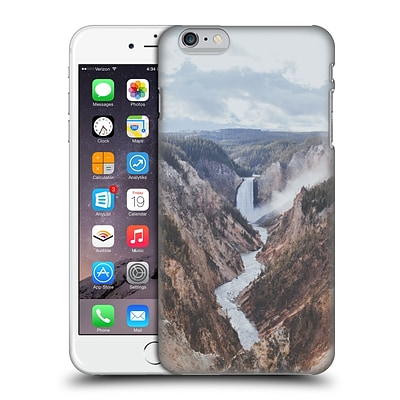 OFFICIAL LUKE GRAM TROPICAL Yellowstone National Park II Hard Back Case for Apple iPhone 6 Plus / 6s Plus