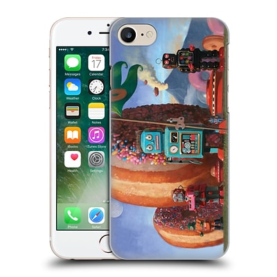 OFFICIAL ERIC JOYNER DONUTS Landing Party 7 Hard Back Case for Apple iPhone 7