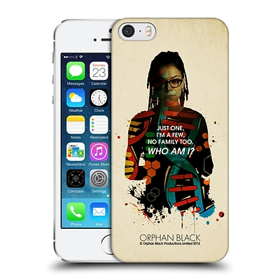 OFFICIAL ORPHAN BLACK WHO AM I Cosima Helix Hard Back Case for Apple iPhone 5 / 5s / SE