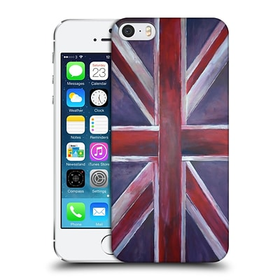 OFFICIAL MAGDALENA HRISTOVA UNION JACK Painted Hard Back Case for Apple iPhone 5 / 5s / SE