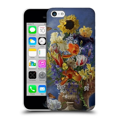 OFFICIAL NENE THOMAS FLORALS Garden in Gold Hard Back Case for Apple iPhone 5c