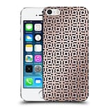 OFFICIAL MAGDALENA HRISTOVA ORNAMENTS Rose Gold 2 Hard Back Case for Apple iPhone 5 / 5s / SE