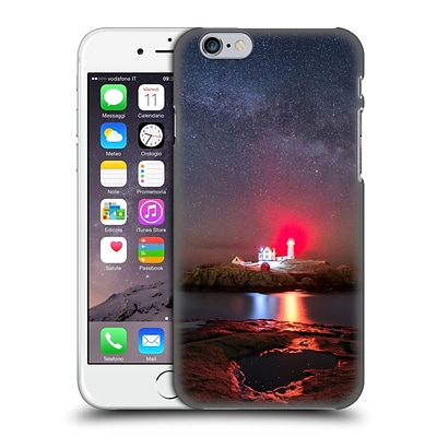 OFFICIAL MICHAEL BLANCHETTE LIGHTHOUSES Nubble Night Hard Back Case for Apple iPhone 6 / 6s