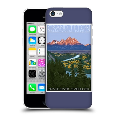OFFICIAL LANTERN PRESS NATIONAL PARK Grand Teton Hard Back Case for Apple iPhone 5c