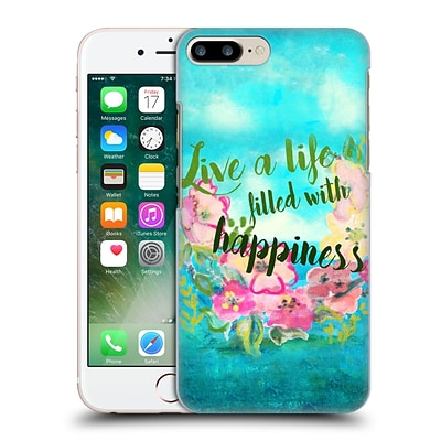 OFFICIAL NATASHA WESCOAT WATERCOLOUR WONDERS Happiness Hard Back Case for Apple iPhone 7 Plus