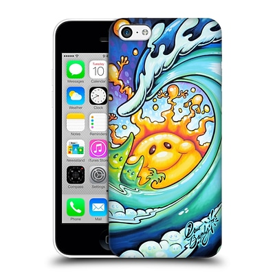 OFFICIAL DREW BROPHY SURF ART Feeling Happy Hard Back Case for Apple iPhone 5c
