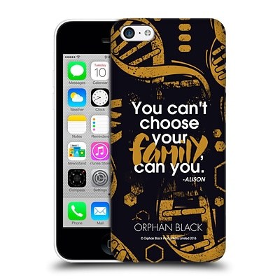 OFFICIAL ORPHAN BLACK SESTRAS Family Hard Back Case for Apple iPhone 5c