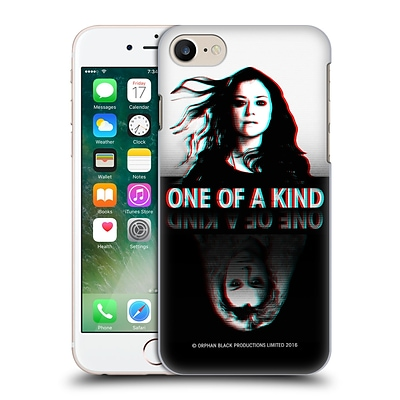OFFICIAL ORPHAN BLACK ONE OF A KIND Sestra Hard Back Case for Apple iPhone 7