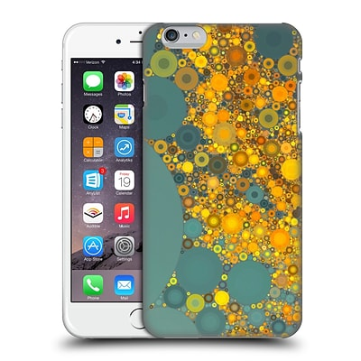 OFFICIAL OLIVIA JOY STCLAIRE CIRCLES Sunshine and Clouds Hard Back Case for Apple iPhone 6 Plus / 6s Plus