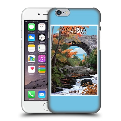 OFFICIAL LANTERN PRESS NATIONAL PARK Acadia Hard Back Case for Apple iPhone 6 / 6s