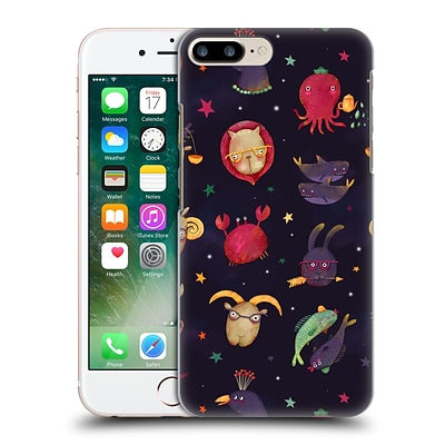 OFFICIAL OILIKKI ANIMAL PATTERNS Zodiac Hard Back Case for Apple iPhone 7 Plus