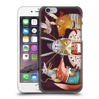 OFFICIAL OILIKKI ANIMALS Fruit Drink Hard Back Case for Apple iPhone 6 / 6s