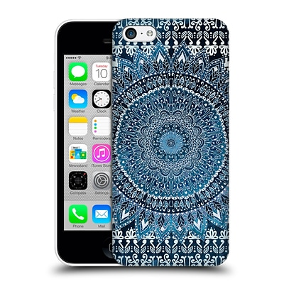 OFFICIAL NIKA MARTINEZ MANDALA Blue Hard Back Case for Apple iPhone 5c
