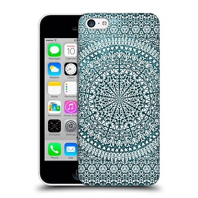 OFFICIAL NIKA MARTINEZ MANDALA Bandana in Mint Hard Back Case for Apple iPhone 5c