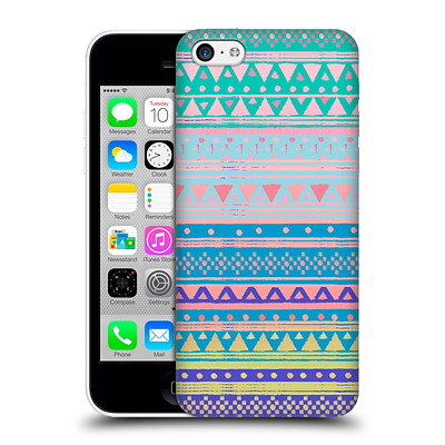 OFFICIAL NIKA MARTINEZ TRIBAL PRINTS Boho Chic Native Bandana Hard Back Case for Apple iPhone 5c