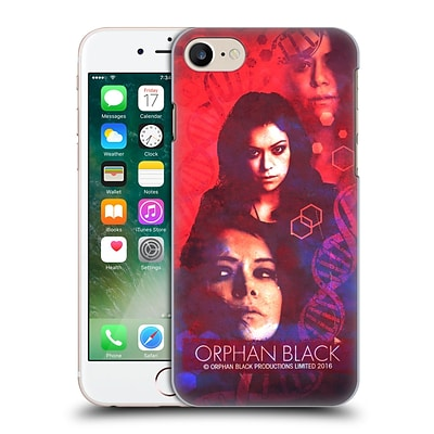 OFFICIAL ORPHAN BLACK CHARACTERS Sarah Hard Back Case for Apple iPhone 7