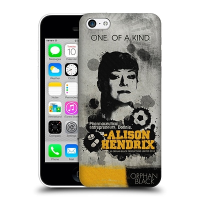 OFFICIAL ORPHAN BLACK POSTERS Alison Hard Back Case for Apple iPhone 5c