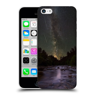 OFFICIAL MICHAEL BLANCHETTE NIGHT SKY A River Runs Through It Hard Back Case for Apple iPhone 5c
