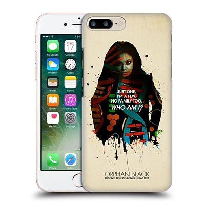 OFFICIAL ORPHAN BLACK WHO AM I Sarah Helix Hard Back Case for Apple iPhone 7 Plus