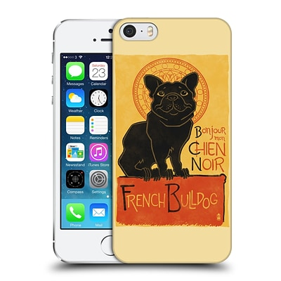 OFFICIAL LANTERN PRESS DOG COLLECTION French Bulldog Hard Back Case for Apple iPhone 5 / 5s / SE