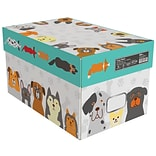 Quill Brand® Animal Friends 8 1/2 x 11 Art Copy Paper, 20 lbs., 92 Brightness, 10 Reams/CT (AF1120)