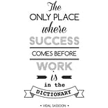 Paperflow Office Deco Wall Transfers The only place where success .15 x 26 (15103)