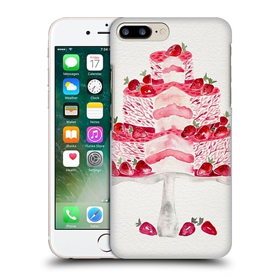 OFFICIAL CAT COQUILLETTE SWEETS Strawberry Shortcake Hard Back Case for Apple iPhone 7 Plus