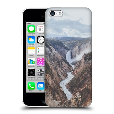 OFFICIAL LUKE GRAM TROPICAL Yellowstone National Park II Hard Back Case for Apple iPhone 5c