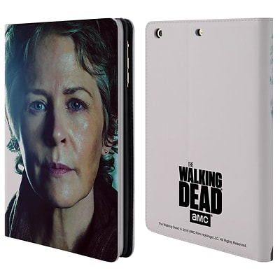 OFFICIAL AMC THE WALKING DEAD CHARACTERS Carol Leather Book Wallet Case Cover For Apple iPad mini 1 / 2 / 3