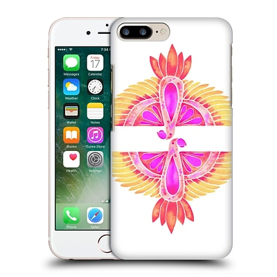 OFFICIAL CAT COQUILLETTE BIRDS Parrot Melon Ombre Hard Back Case for Apple iPhone 7 Plus