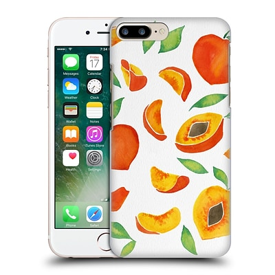 OFFICIAL CAT COQUILLETTE FRUITS & VEGGIES Peaches Hard Back Case for Apple iPhone 7 Plus