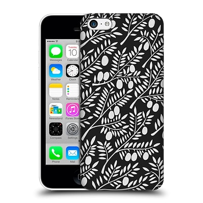 OFFICIAL CAT COQUILLETTE PATTERNS White Olive Branches Hard Back Case for Apple iPhone 5c
