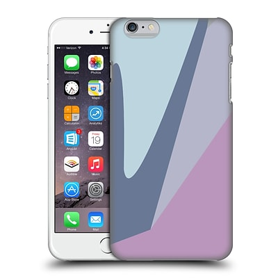 OFFICIAL MAGDALENA HRISTOVA CLEAN LINES 2 Lilac 3 Hard Back Case for Apple iPhone 6 Plus / 6s Plus