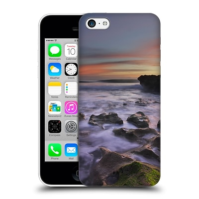 OFFICIAL CELEBRATE LIFE GALLERY BEACHES Blowing Rocks Hard Back Case for Apple iPhone 5c