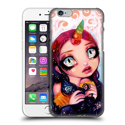 OFFICIAL NATASHA WESCOAT FANTASY Unicorn Girl Hard Back Case for Apple iPhone 6 / 6s